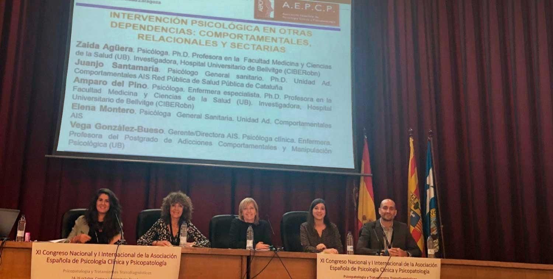 AIS en el XI Congreso Nacional y I Internacional de la Asociación Española de Psicología Clínica y Psicopatología